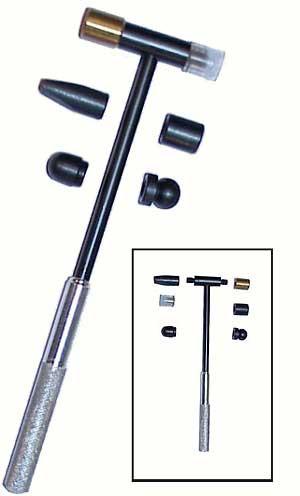 BLH-6 Locksmith Hammer with Interchangeable Heads