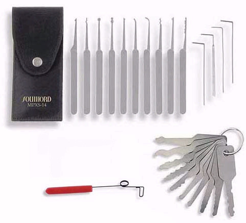 Lock Picking Combo Set No. 1 | Lock Pickers Mall