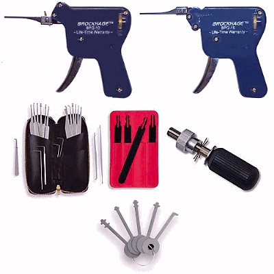Lock Picking Combo Set X - includes 2 Pick Guns and more
