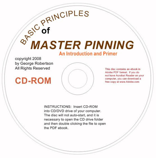 Basic Master Pinning - ebook in PDF Format on a CD-ROM