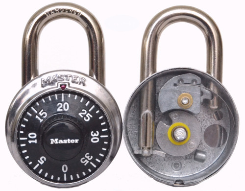 Transparent CutAway Combination Padlock - unique and effective as a training aid
