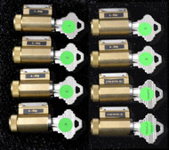 Progressive Practice Lock Set of * - wholesale only