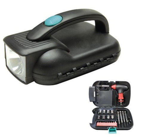 All-in-One Handy Flashlight-Tool Box