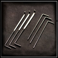 Level Two Tension Set - 6 Tension Wrenches from Sparrows