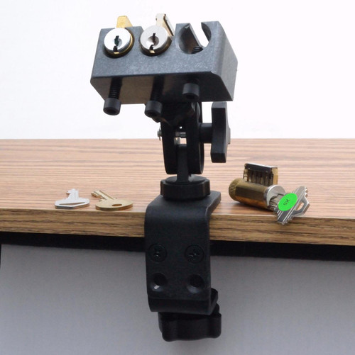 TriPik 4 Fully Articulating Practice Lock Holder and Table Clamp