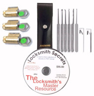 Complete Lock Picking Starter Kit No. 1 - In Stock