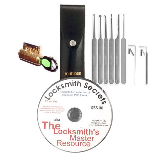Complete Lock Picking Starter Kit No. 2 - In Stock