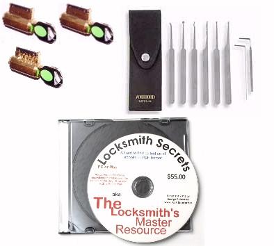 Great Beginner's Lock Picking Practice Kit | Level2 Kit