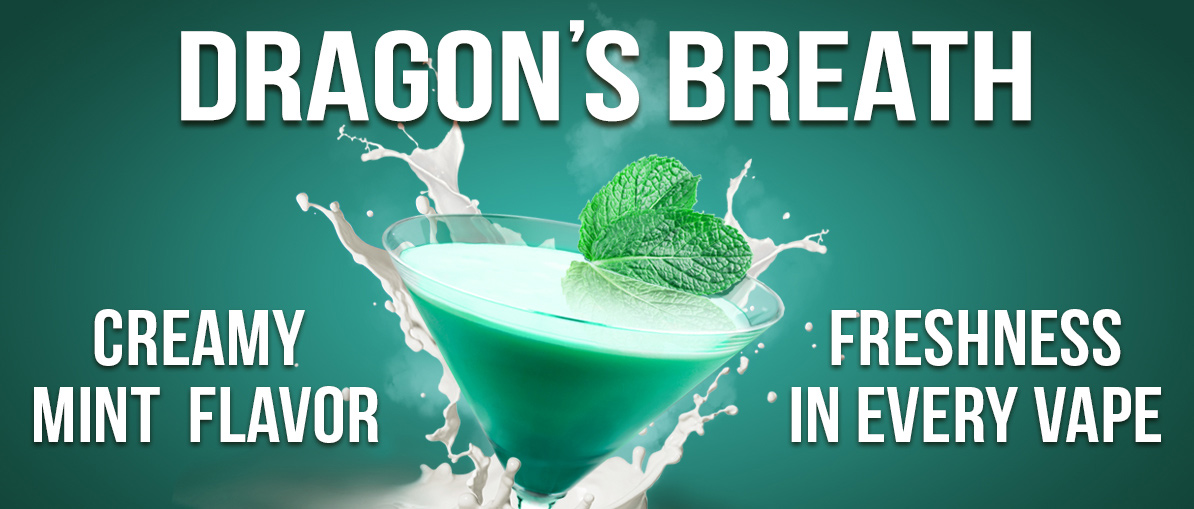 Dragon's Breath - Freshness in Every Vape!