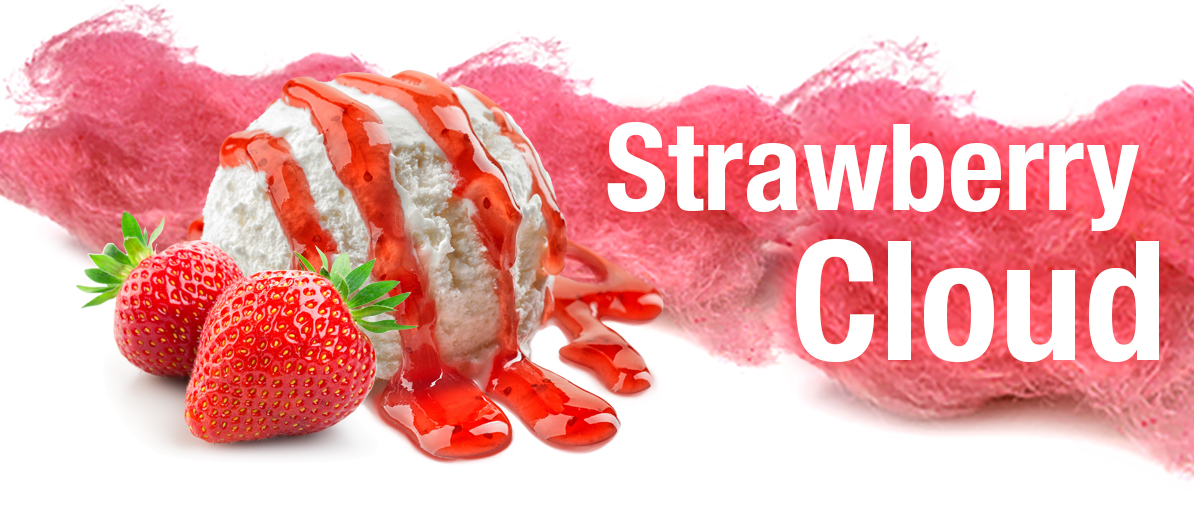 Strawberry Cloud E-Liquid by ECBlend