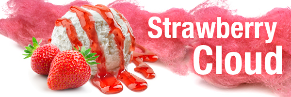 Strawberry Cloud E-Liquid Flavor