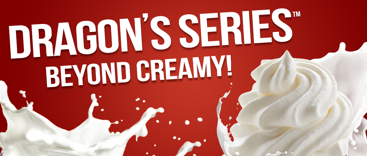 ECBlend's Dragon Series is ... Beyond Creamy!