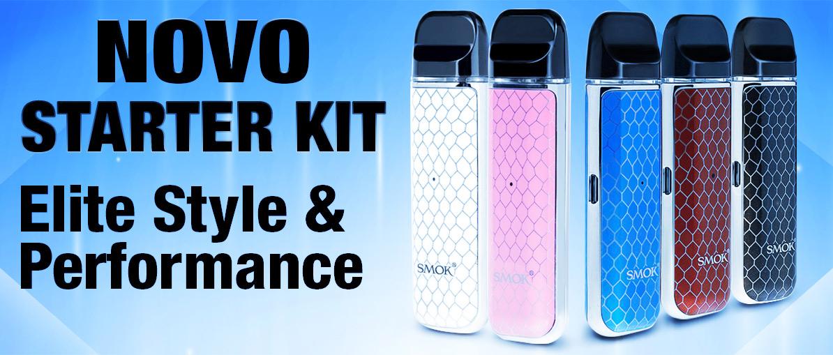 Smoktech Novo POD System - Starter Kit