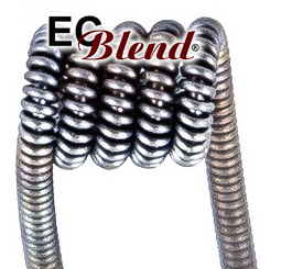Prewound NiChrome Core Clapton Wire - 15 ft spool at ECBlend E-Liquid Flavors
