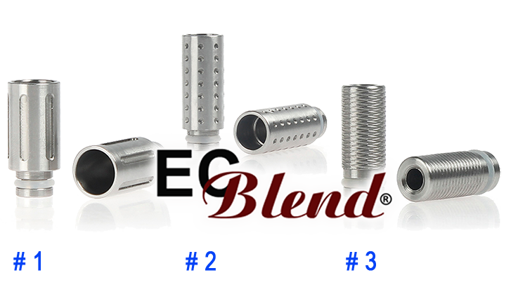 Stainless Steel Silencer Drip Tip at ECBlend Flavors