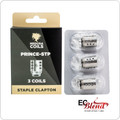 Medusa TFV12 Prince Staple Clapton Replacement Coil Head