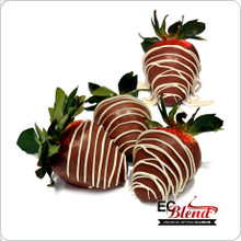 All Natural Chocolate Dipped Strawberries 100% VG