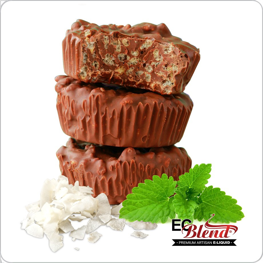 Chocolate Mint Coconut Crunch Premium Artisan E Liquid Ecblend Mlk Bar 60ml Eliquid Vape Banana Choco Nut Flavor