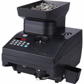 ZZap CC10 Coin Counter - 2300 Coins Per Minute - 3 Year Warranty
