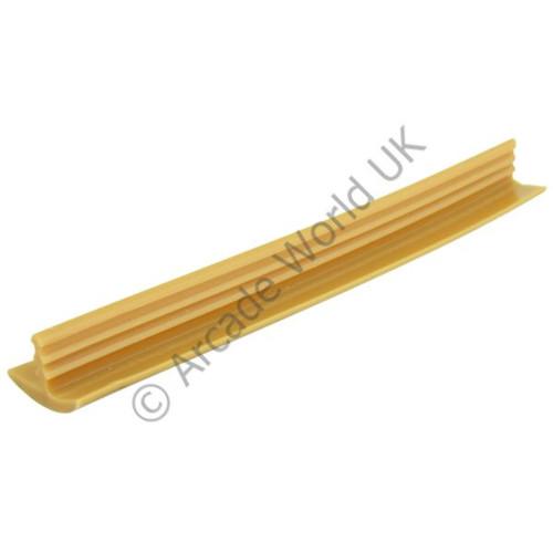 Teak wood effect half inch t molding arcade world uk