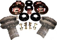 Pantera 4 Piston Brake Kit - 12.19 x 1.25 Rotors w/parking brake
