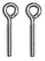 SULLIVAN S549 4-40 THREADED STEEL EYE BOLTS (4PCS.)