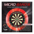 Micro - Band III Ultra Thin Dart Board