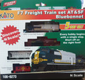 Diesel Freight Train-Only Set -  Standard DC -- Union Pacific (Armour Yellow, gr