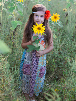 #613 Sunrise Kids Dress