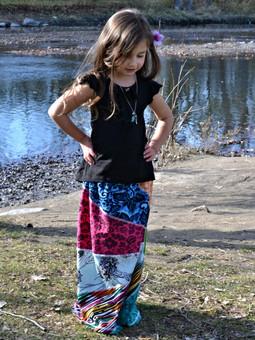 #5657 Sunburst Girls' Skirt