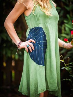 #28 Olive Leaf Dress
