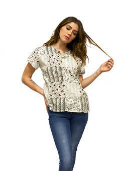 1568 Patchwork Tee Shirt