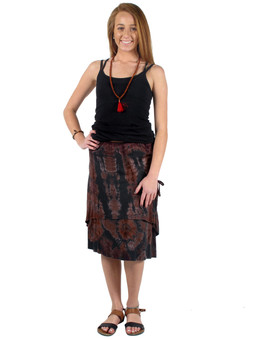 6146 Double Layer Lounge Skirt