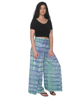 2043 Faux Wrap Pants in Tie Dye