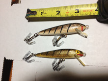 If you can help ID these Rapala type lures, please contact us.