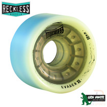 RECKLESS WHEELS (4) - EVADER XE 59mm/88a - GREEN