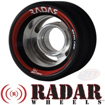 RADAR WHEELS (4) DEVIL RAY BLACK 62mm