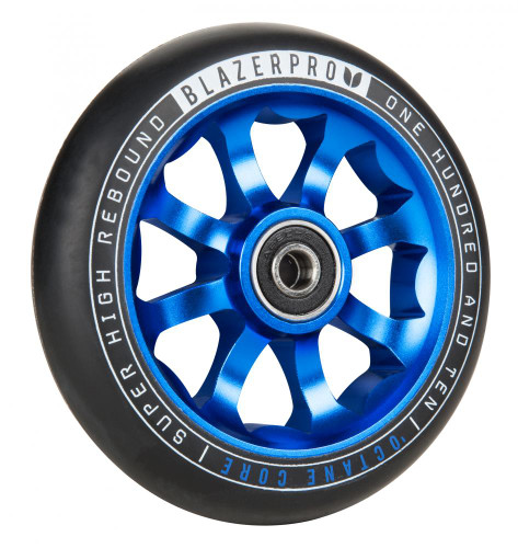Octane scooter wheels - blue