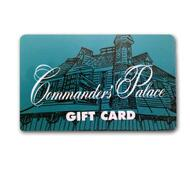 Commander's Palace $50-$500 Gift Cards