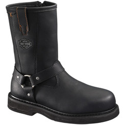 95328 Harley Davidson Men's Bill Safety Boots - Black