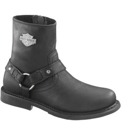 95262 Harley Davidson Men's Scout Motorcycle Boots - Black
