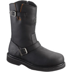 93120 Harley Davidson Men's Jason Safety Boots - Black