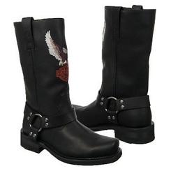 "Harley Davidson Men's Darren 13"" Harness Boot Black D93216"