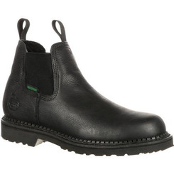 Georgia Mens Giant Waterproof High Romeo Boots GB00084  BLACK