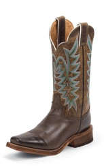 "Justin Ladies Boots BRL610 11"" GUTHRIE CHOCOLATE"