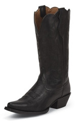 "Justin Ladies Boots JBL1115 12"" TRACY BLACK"