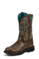"Justin Ladies Boots WKL9991 11"" TASHA WATERPROOF STEEL TOE"