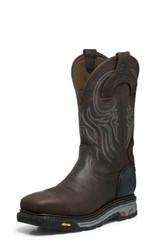 "Justin Mens Boots WK2150 11"" WARHAWK WATERPROOF COMP TOE"