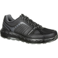 Rocky Mens LX Alloy Toe Athletic Work Shoe 0246 BLACK GREY