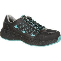 Georgia Boot Ladies ReFLX Women's Alloy Toe Work Athletic Shoe 0233 BLACK